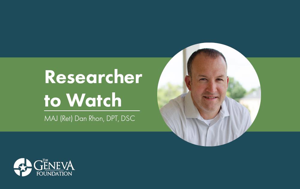 Researcher to Watch - Dan Rhon