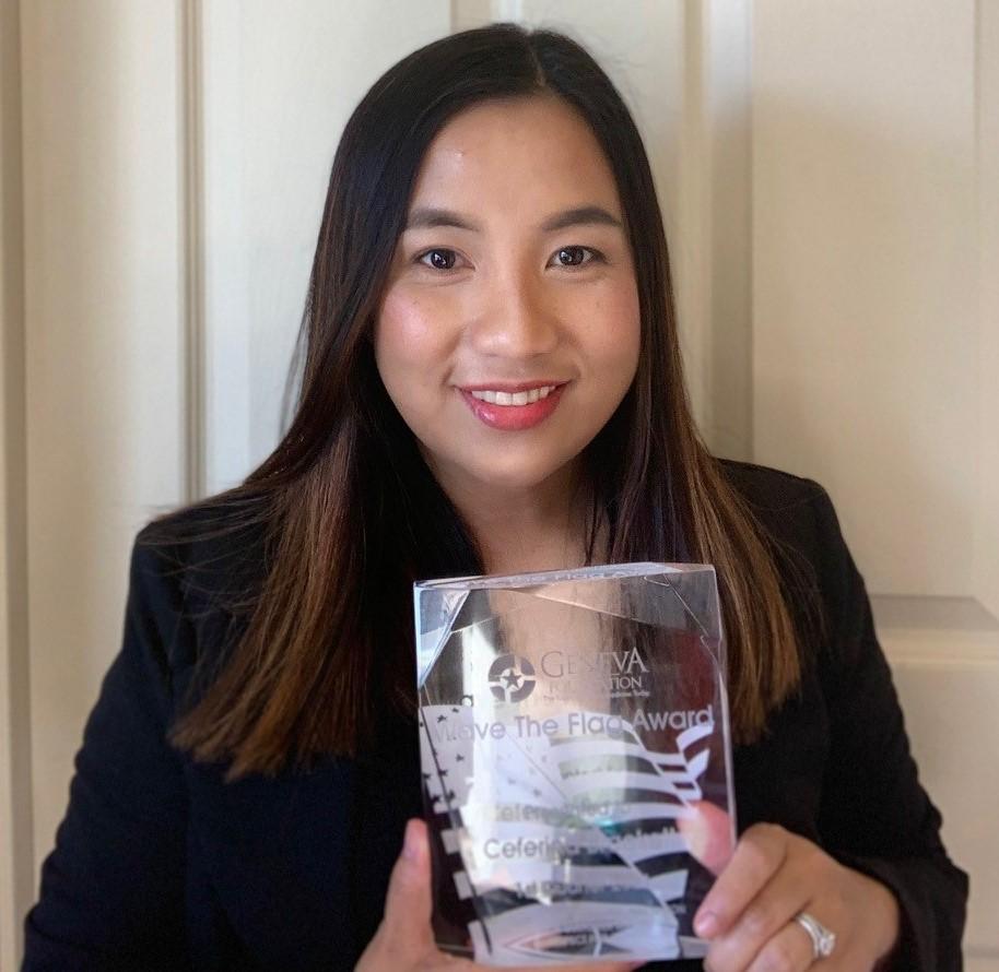 Ceferina holding award